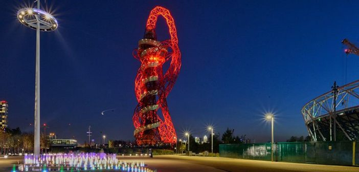 London now boasts the biggest slide in the world