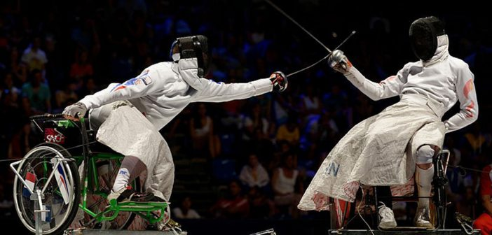 Rio 2016 – Wheelchair fencing