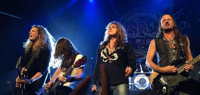 Whitesnake on their way to Brazil
