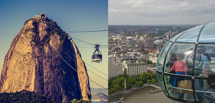Sightseeing accessibility in London and Brazil