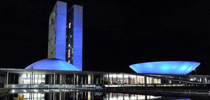 Blue November lights up Brazilian tourist hot spots