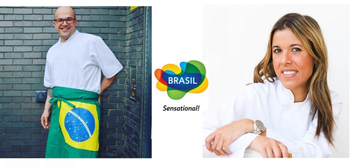 Brazilian Chefs | Lu Berry e Flavio Amaral
