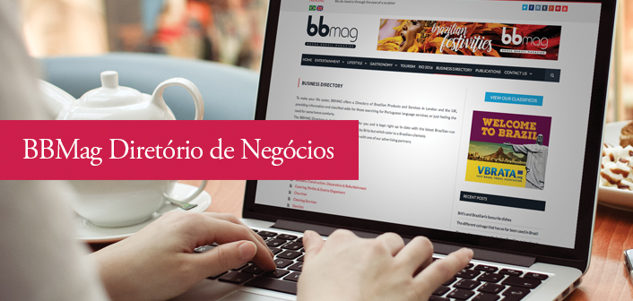 "BBMAG launches its online ""Business Directory"" for Brazilian products and services in the UK"