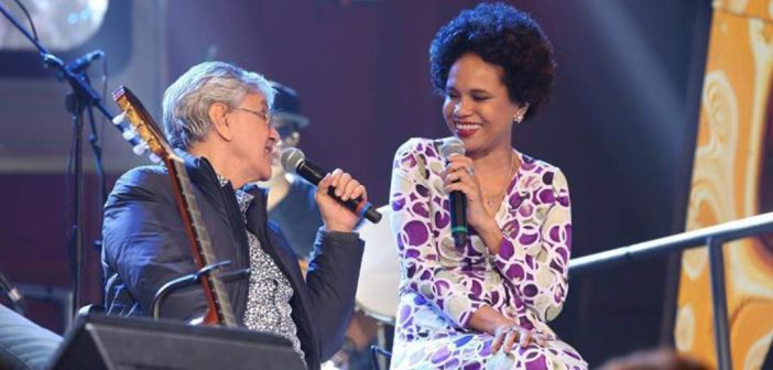 Caetano Veloso and Teresa Cristina