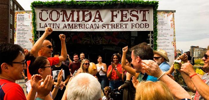 Comida Fest – Uma celebração da culinária de rua latino-americana em Londres