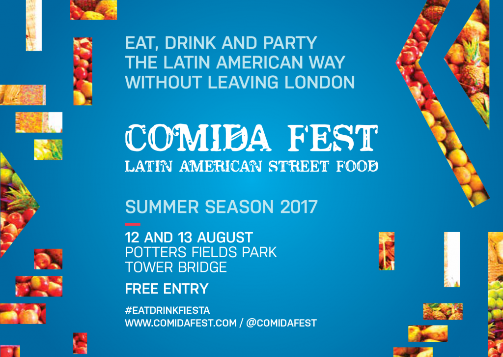 COMIDA FEST: eat your way to Latin America without leaving London