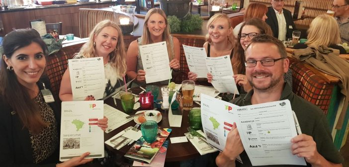 VBRATA UK's Brazilian Road Show inspires the British travel sector