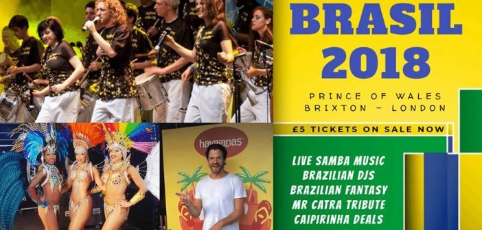 Brasil 2018 at the Prince of Wales