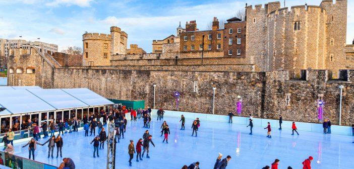 MY LONDON: Pistas de patinação no gelo