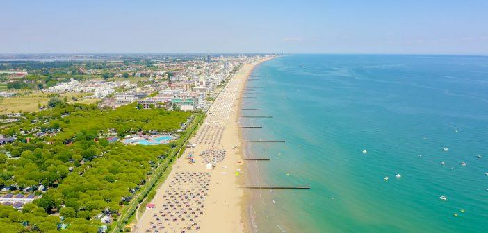 Summer on the beaches of Veneto